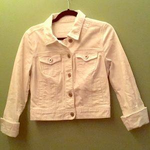 Maurices M White Denim Jacket